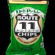 POTATO CHIPS, DILL PICKLE NON GMO Route 11 12/6oz