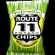POTATO CHIPS, SOUR CREAM & CHIVE Route 11 12/6oz