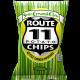 POTATO CHIPS, SOUR CREAM & CHIVE Route 11 30/2oz