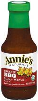 BBQ SAUCE, SMOKY MAPLE ORG Annie's 12/12oz