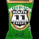 POTATO CHIPS, DILL PICKLE NON GMO Route 11 30/2oz